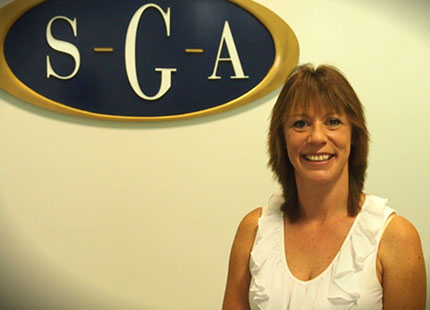 Donna Schubert, client services staff member.